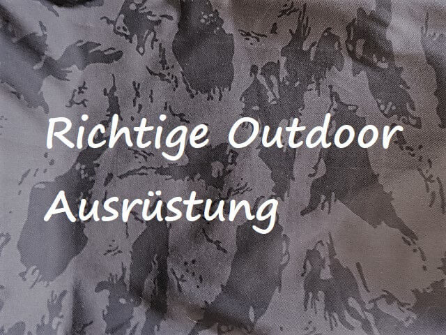 Richtige Outdoor- Klamotten zum Magnetangeln